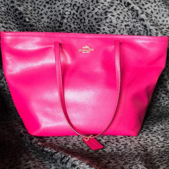 Coach Handbags - Pink Coach Tote